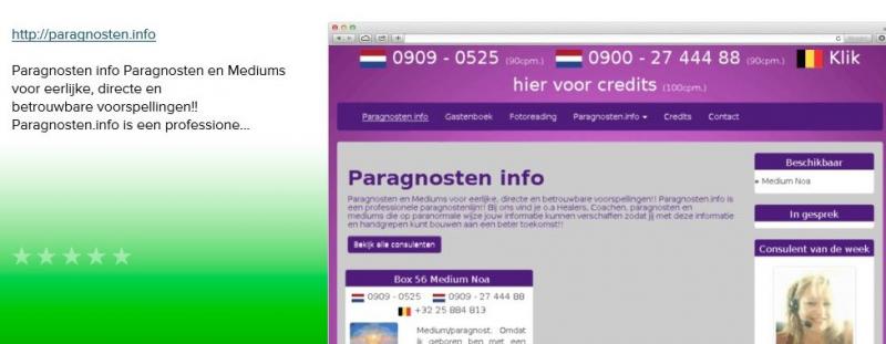paragnosten info